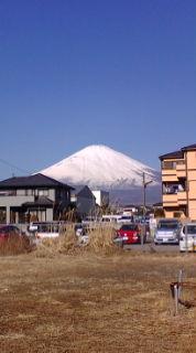 快晴、富士山絶景